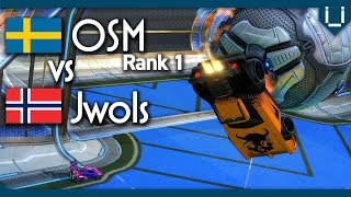 OSM (Rank 1 World) Vs Jwols | Rocket League 1v1