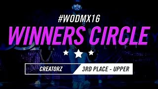 Creatorz | 3rd Place – Upper Division | World of Dance Mexico City Qualifier 2016 | #WODMX16