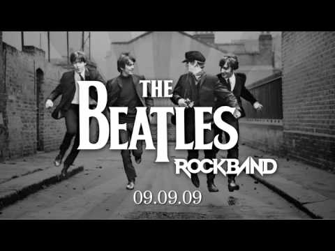 SA 135: Rock Band: Beatles Band Pack + Spiel + Schlagzeug, Gitarre, Mikrofon   UNVOLLSTÄNDIG