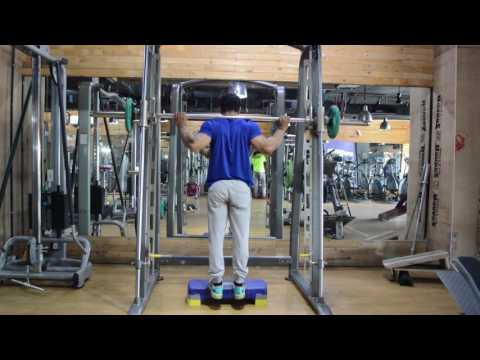 Smith Machine Calf Raise - Best Workout for Calves