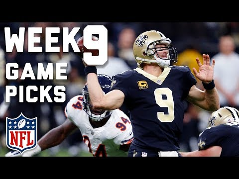 Week 9 Game Picks in Under 3 Minutes ⏱?  | NFL