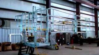 Safe Harbor Access Systems - Gangway with Elevating Safety Cage
