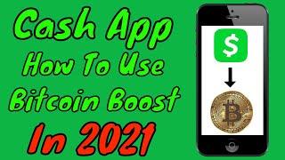 Wie oft bietet die Cash-App Bitcoin-Boost an?