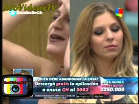 Marian Vs Romina y Florencia en la gala en vivo GH 2015 #GH2015 #GranHermano