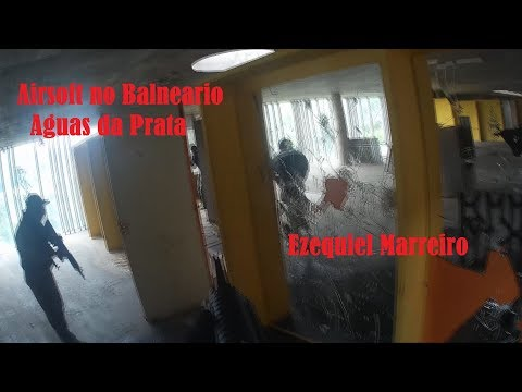Airsoft no balneário Aguas da Prata SP
