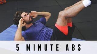 5分鐘Abs |身體教練 出處 The Body Coach TV