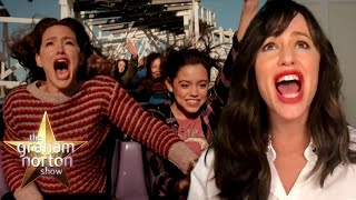 Jennifer Garner Faced Her Fears With Jenna Ortega On 'Yes Day' | The Graham Norton Show