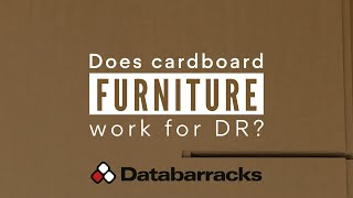 Does Cardboard Furniture Work For Disaster Recovery?