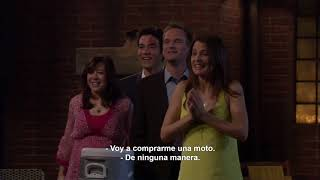 "How i met your mother 4x24 ""El salto"""