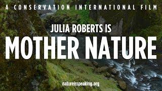 Se a natureza falasse, o que você acha que ela diria?