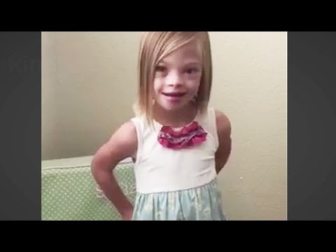 Veure vídeo This 7-year-old girl's message about Down syndrome