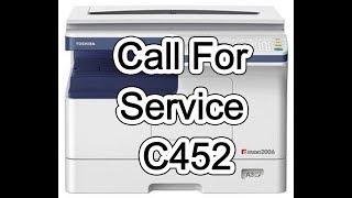 Estudio 2006/2306/2506 Call for service C452 Solve