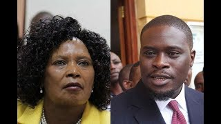 Senator Sakaja initiates a court process to nullify ex MP Mary