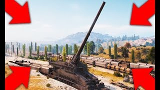 DORA В World of Tanks!!! КАЛИБР 807мм!!!! ВСЕМ ХАНА!!!