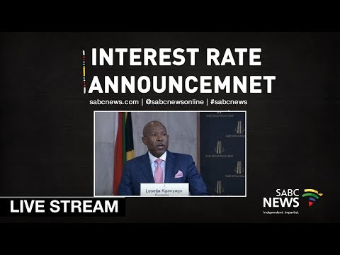 SARB's MPC interest announcement: 20 September 2018