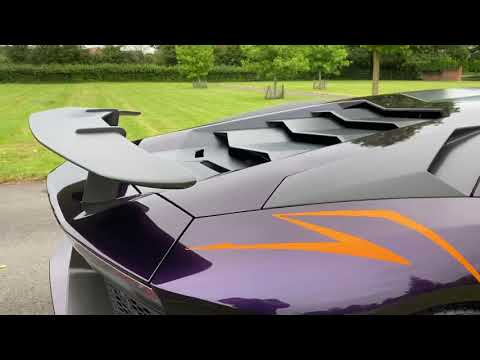 Lamborghini Aventador LP750/4 SV - 1 Owner From New Video