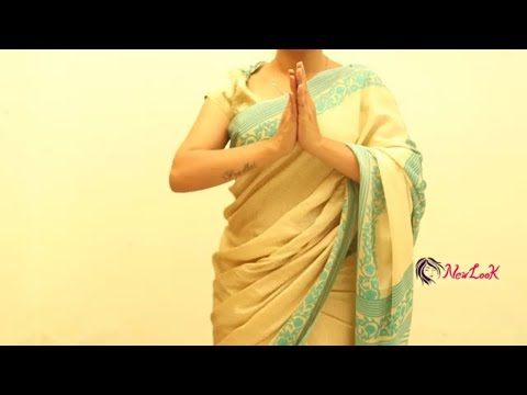 How to wear Bridal Saree Fastly and Easily - New Look