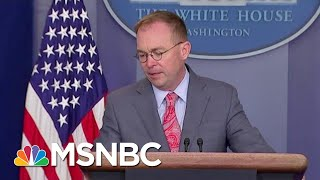 Subpoena Deadline Today For Docs From Mick Mulvaney, Perry | Velshi & Ruhle | MSNBC