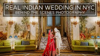 Real Indian Wedding! Behind The Scenes Photography!