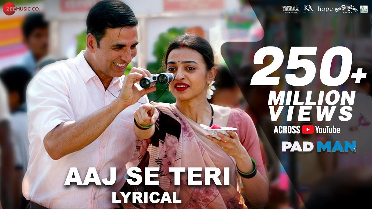 Aaj Se Teri Lyrics in Hindi| Arijit Singh Lyrics