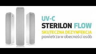 PSP UV-C STERILON FLOW – lampy wirusobójcze i bakteriobójcze