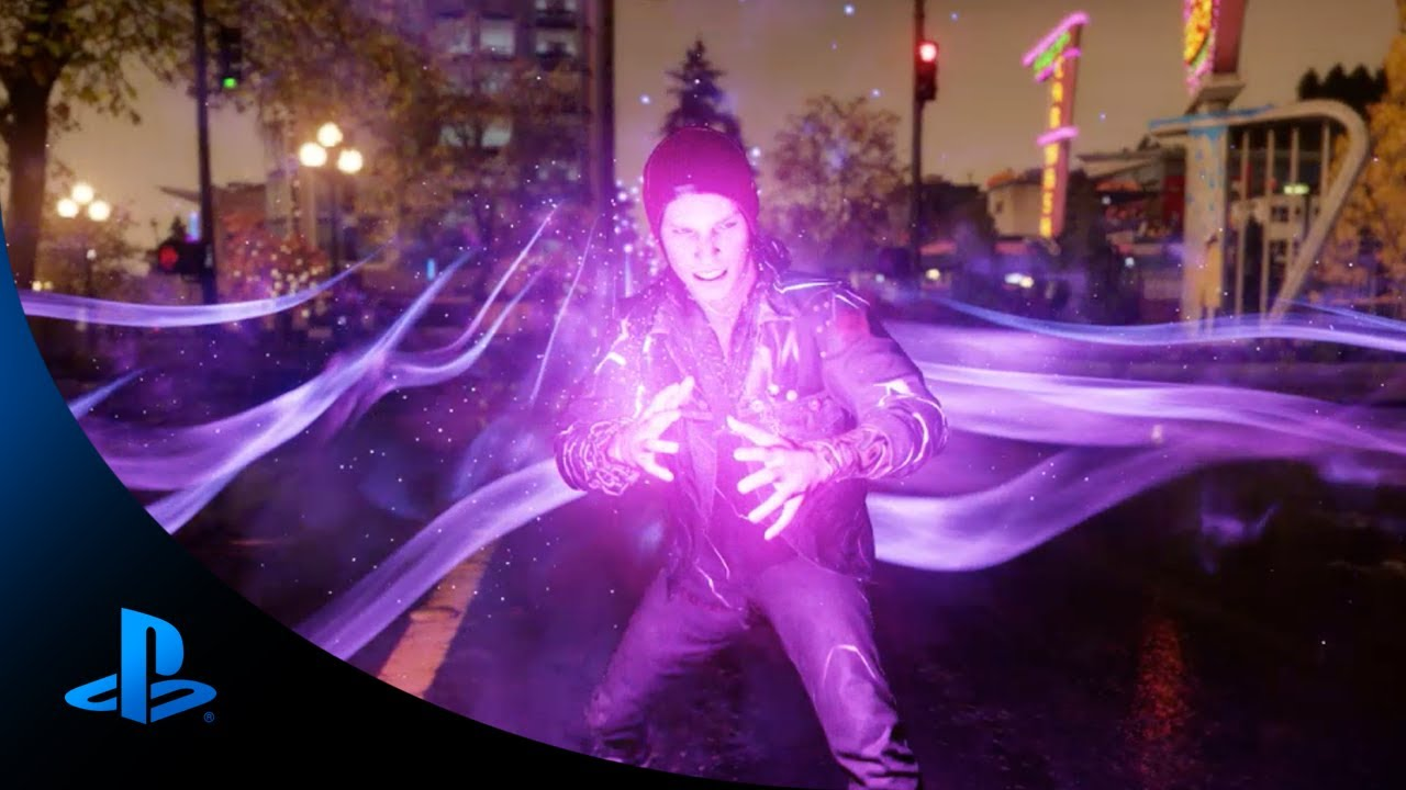 The Powers of inFAMOUS Second Son: Smoke vs. Neon