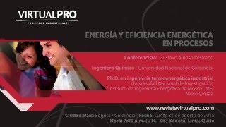 Energía y eficiencia energética en procesos