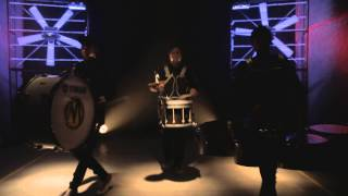 Video Marimba Live Drums - March Of J.V.F