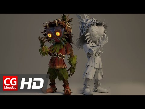 "CGI & VFX Breakdown HD: ""Making of Majora's Mask – Terrible Fate Short Film"" by EmberLab"