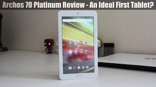 Archos 70 Platinum Review - Good First Tablet?