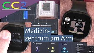 CC2tv #277: Die Asus VivoWatch BP – so funktioniert EKG und Blutdruckmessung