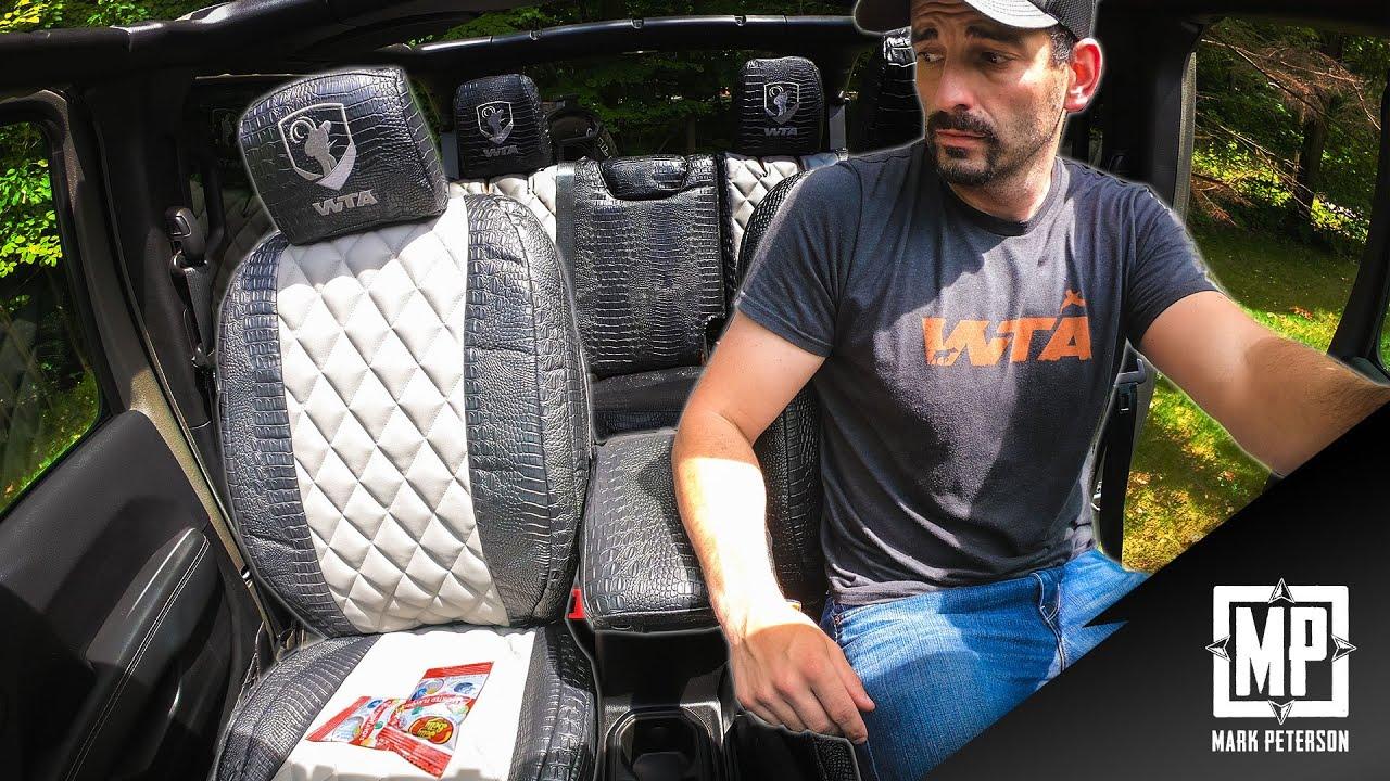 RuffTuff Custom Seat Cover Off-Road Jeep Install