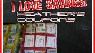 How I Organise My Coupon Binder ~ By Heather