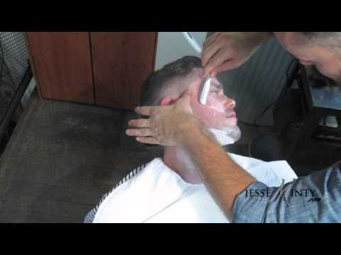 The Straight Shave Feat. Barber & Hairstylist Matty Conrad