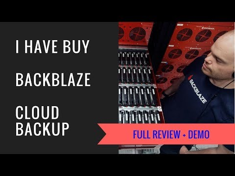 Backblaze Cloud Backup Full Review | Get Free Trial  | The best cloud backup service.