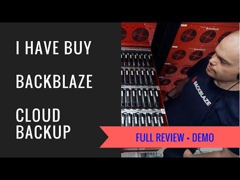Backblaze Cloud Backup Full Review | Get Free Trial  | The best cloud backup service.