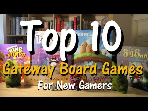 Top 10 Favourite Gateway Family Board Games For New Gamers