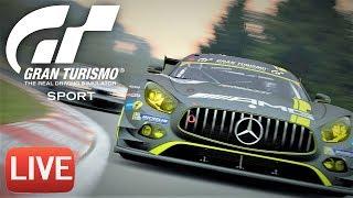 Гонки в Gran Turismo SPORT Онлайн. Стрим!