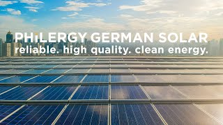 PHILERGY German Solar - Best supplier of solar panels and solar systems in the Philippines