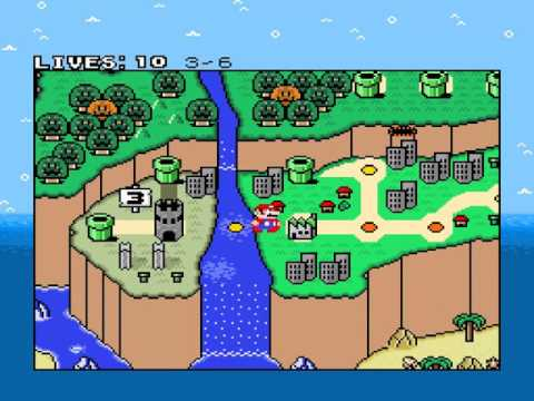 Mystery of the Seven Orbs Walkthrough - New Super Mario World 1: The