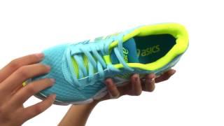 Asics GEL-Nimbus 18 GS Junior Running Shoes video