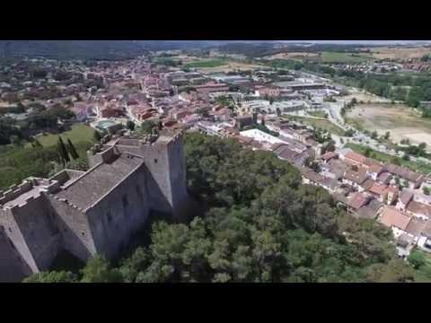 DJI Phantom Castillo la roca del valles