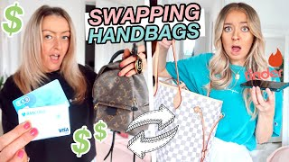 Swapping HANDBAGS With My MUM for 24 HOURS! Swapping Phones, Cars & Money!!