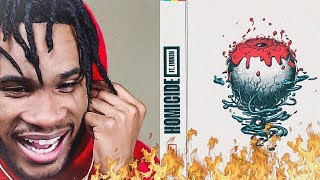 LOGIC   HOMICIDE (FT. EMINEM) | REACTION VIDEO