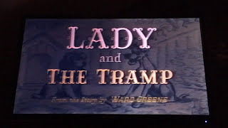 Lady And The Tramp 1987 VHS Opening