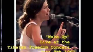 Wake Up - Alanis Morissette - Tibetan Freedom Concert 1997