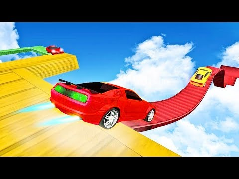 Impossible Car Tracks Drive Stunt 3D #2 | Street Vehicles for Children | Monster Truck for Kids