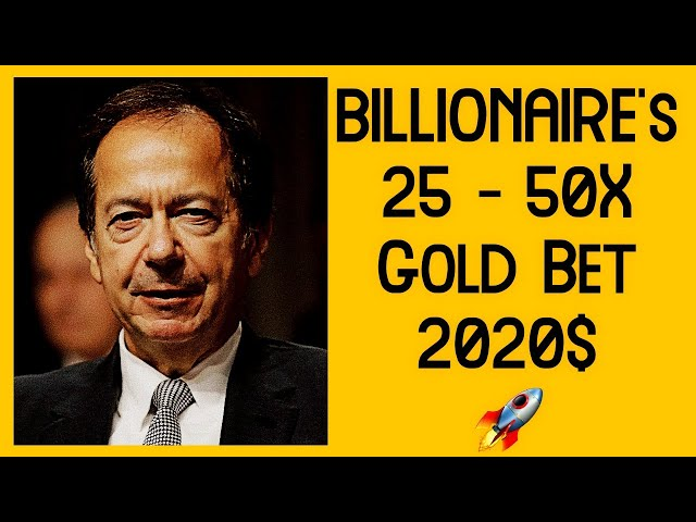 What is This Billionaire's 2021 Gold Bet?