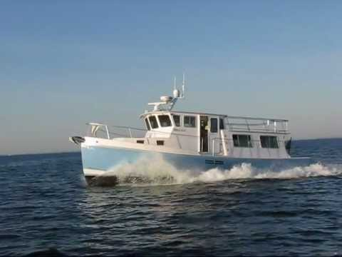 Wayne Beal 40 Fast Trawler video
