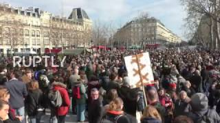 LIVE: Protesters to rally against corruption in Paris